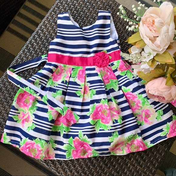 JONA MICHELLE | Girls 4T Floral Spring Dress